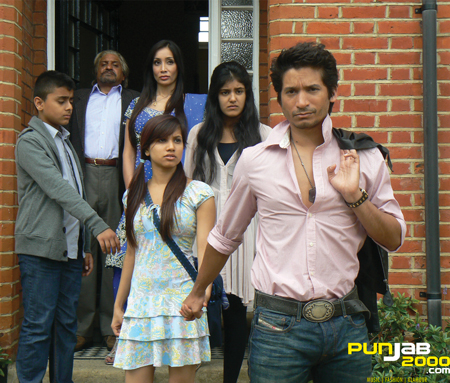 Cast and Crew Members of first ever 'BollyBrit' film, Naachle London, attend Press Conference