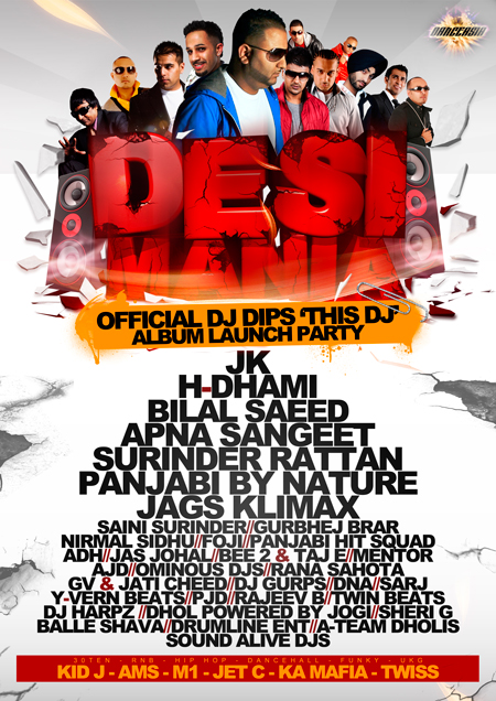 Desi Mania @ Club Republic Leicester