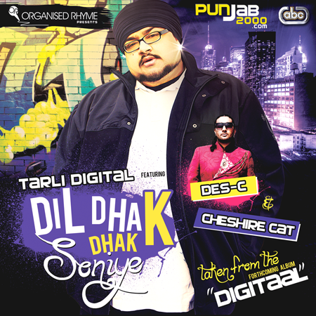 Instantly memorable through sultry, Middle Eastern elements emanating throughout, Dil Dhak Dhak Soniye is a diverse and exhilarating showcase of what Tarli Digital has in store for us with the imminent release of his 10 track, 4th studio album entitled DigiTaal.