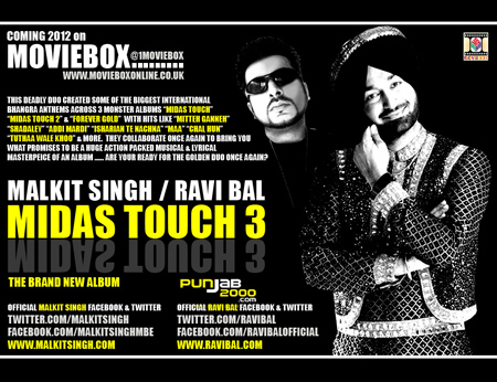 Malkit Singh & Ravi Bal the golden duo collaborate again for their 4th Studio Album together