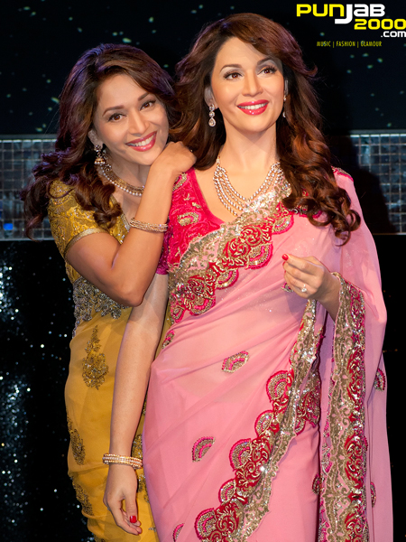 BOLLYWOOD ICON HONOURED AT MADAME TUSSAUDS LONDON AS MADHURI DIXIT-NENE UNVEILS HER STUNNING NEW WAX FIGURE
