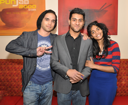Akshay from Punjab2000 catches up with Reece Ritchie & Amara Karan from the movie