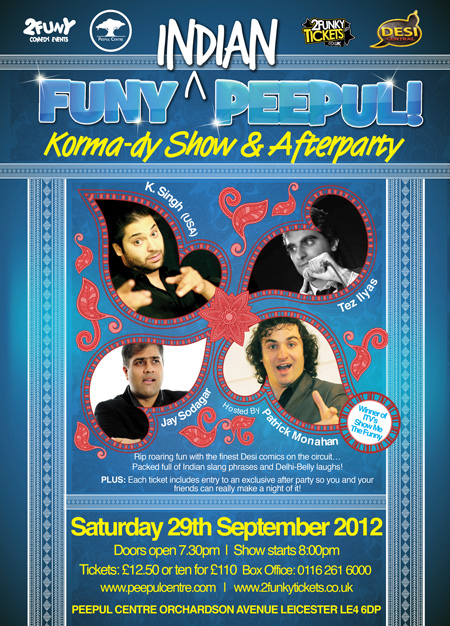 Funy Indian Peepul Comedy show and afterparty