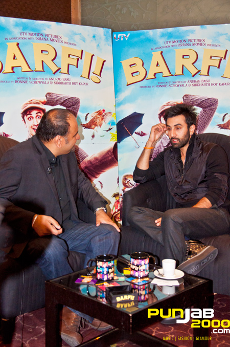 Harjap Bhangal catches up with Bollywood Superstar Ranbir Kapoor for a exclusive interview for Punjab2000