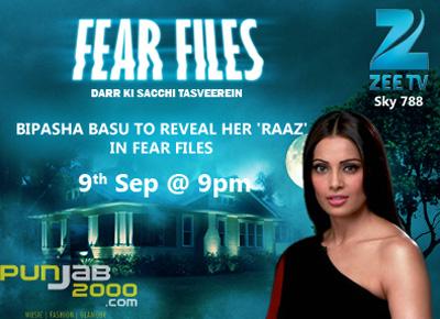 ACTRESS BIPASHA BASU TO REVEAL HER 'RAAZ' IN FEAR FILES