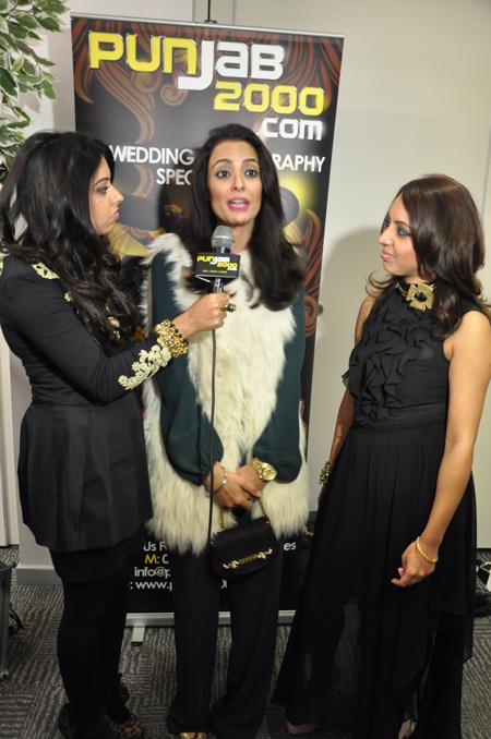Exclusive interview with Nindy Kaur by Kiran & Sharon Billan at the BritAsia TV Music Awards