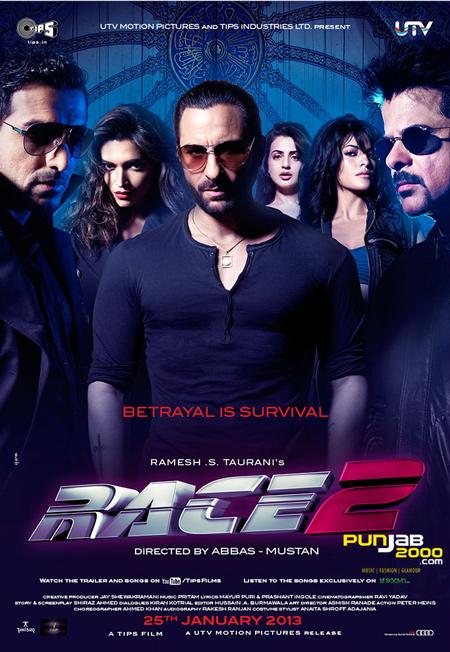 Saif Ali Khan, Deepika Padukone, John Abraham, Jacqueline Fernandez, Anil Kapoor & Ameesha Patel star in Race 2