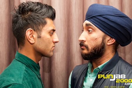 Look into my eyes, look into my eyes, the eyes, the eyes, eyes, not around the eyes, don't look around the eyes, look into my eyes.. Akshay Meets Jus Reign The Interview coming soon....