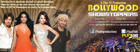 British dance troupe mark the launch of the 'Bollywood Showstoppers' concert with dance masterclass at the iconic venue