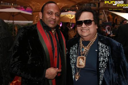 Deepak with Bhappi Lahir