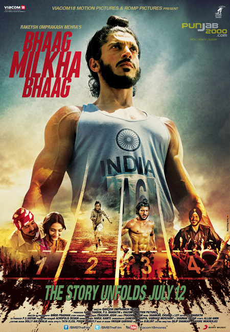 OLYMPIC HERO AND INDIAN ICON, MILKHA SINGH'S INCREDIBLE LIFE STORY GETS SILVER SCREEN DEBUT IN 'BHAAG MILKHA BHAAG'
