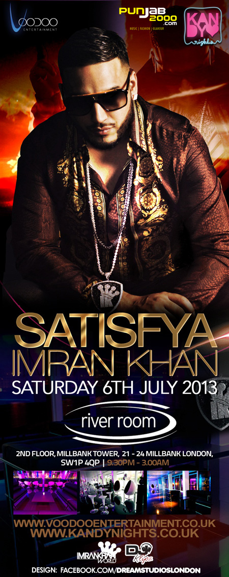 Satisfya – Imran Khan Live @ River Room