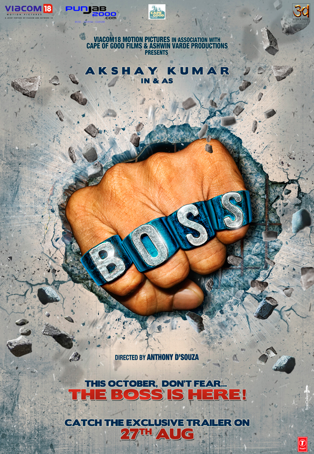 WIN! A 'BOSS' Ring and T-Shirt!
