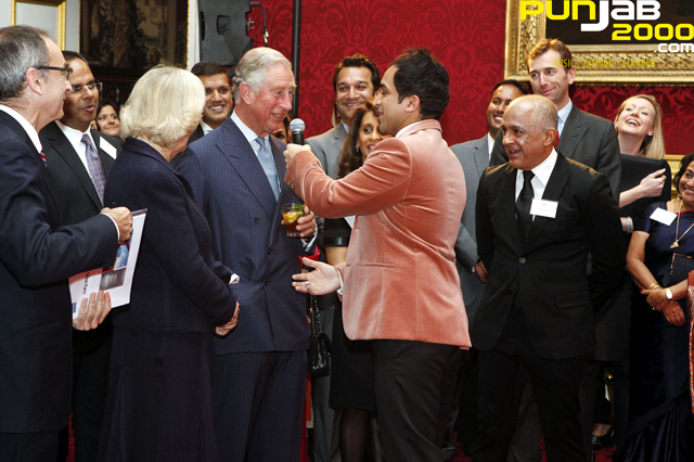 Navin teaches The Prince Of Wales how to say 'Mehbooba',