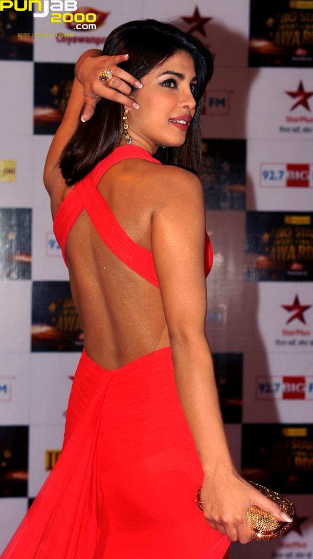 """Priyanka Chopra voted """"Sexiest Back in Bollywood"""""""
