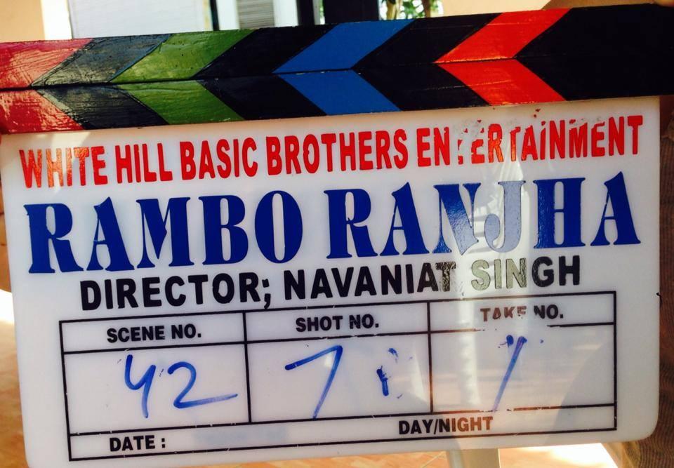 Rambo Ranja Clap Board