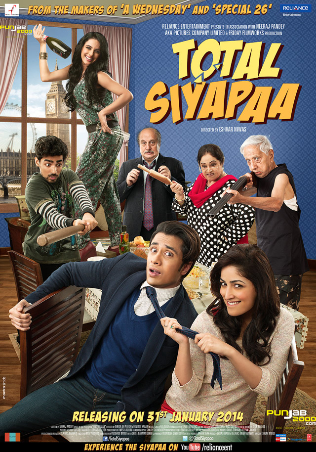 RELIANCE ENTERTAINMENT BRINGS 2014 IN WITH A TWIST WITH THE URBANIST ROM-COM TOTAL SIYAPAA