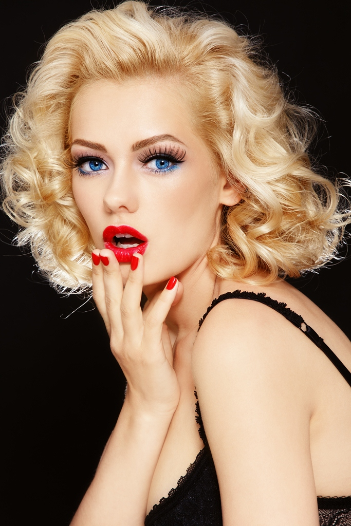 Ретро женщины блондинки 18 фотография