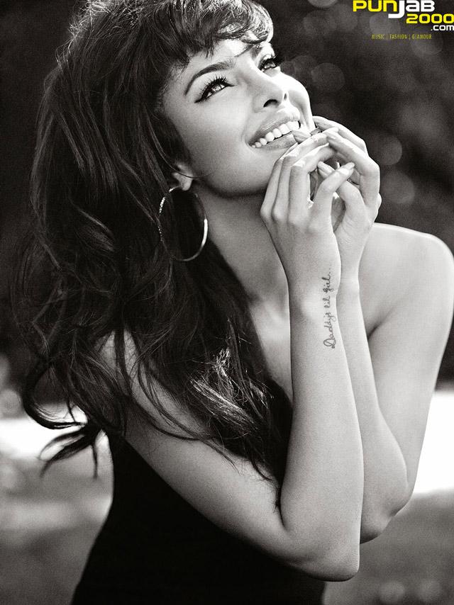 Bollywood Diva Priyanka Chopra make a special appearance at GUESS London.