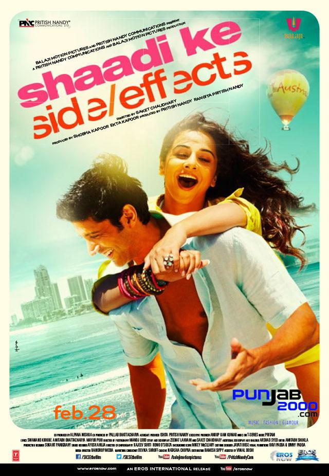 Shaadi Ke Side Effects - staring Farhan Akhtar and Vidya Balan