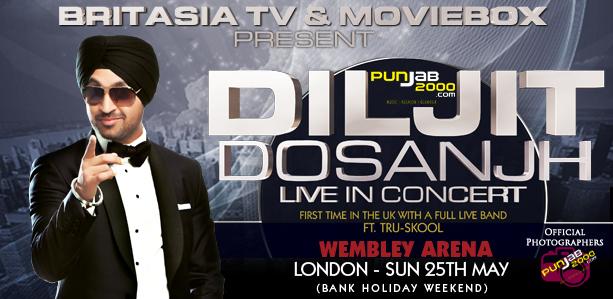 Diljit Dosanjh – Live in Concert