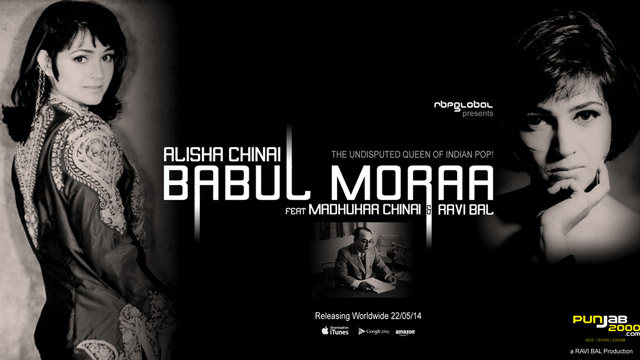 THE UNDISPUTED QUEEN OF INDIAN POP! ALISHA CHINAI returns with Babul Moraa