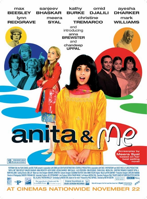 Chandeep Uppal Starring in Anita and Me came out in 2002