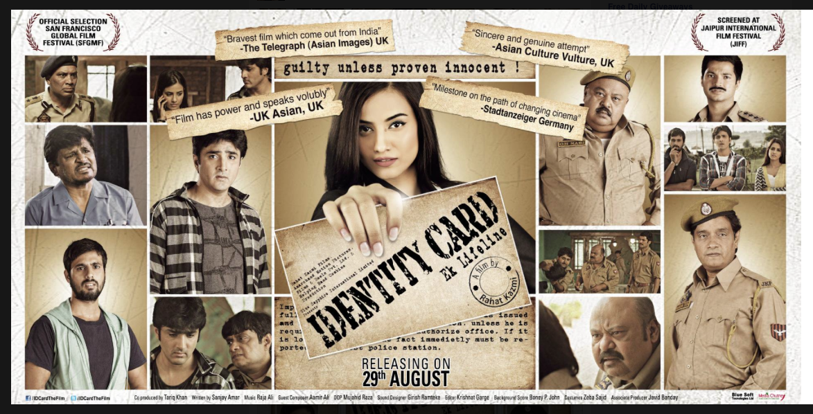 Identity Card Poster