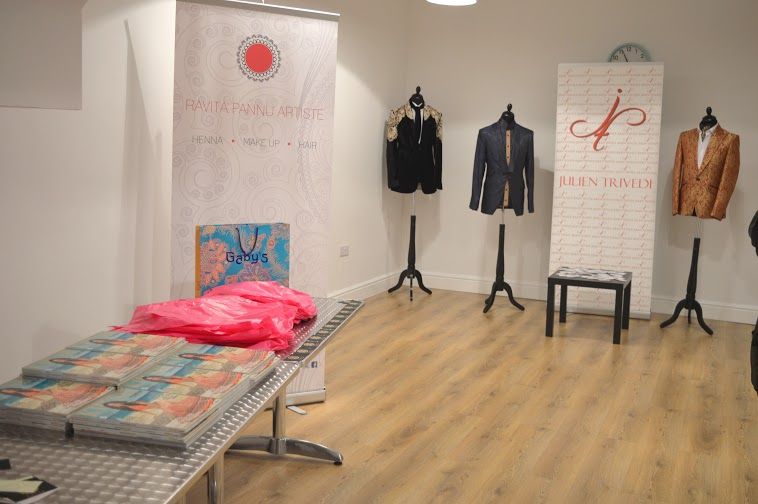 The Liotta Room all set up at The Space Birmingham**