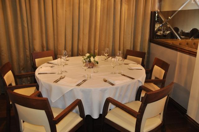 Chef's table at Tapasya Restaurant, Hull