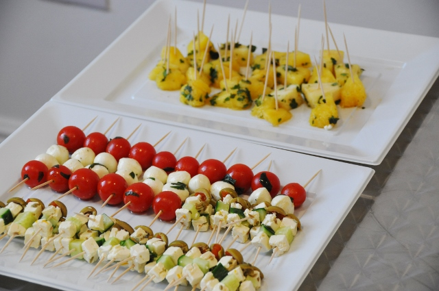 Selection of canapés served at the event courtesy of The Space Birmingham*