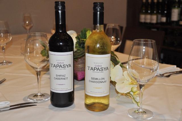 Tapasya brand wines