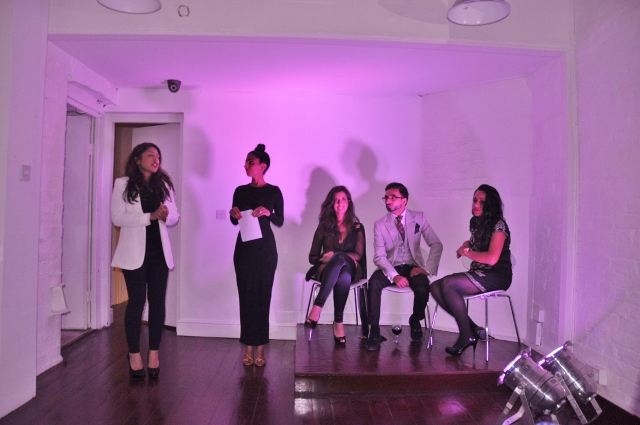 Hosts Yasmin Sidat and Chandeep Uppal with the guest panel*