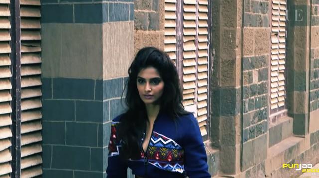 Sonam Kapoor Poses for Vogue India