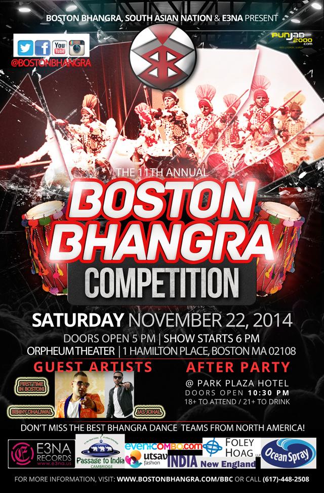 Boston Bhangra Competition 2014