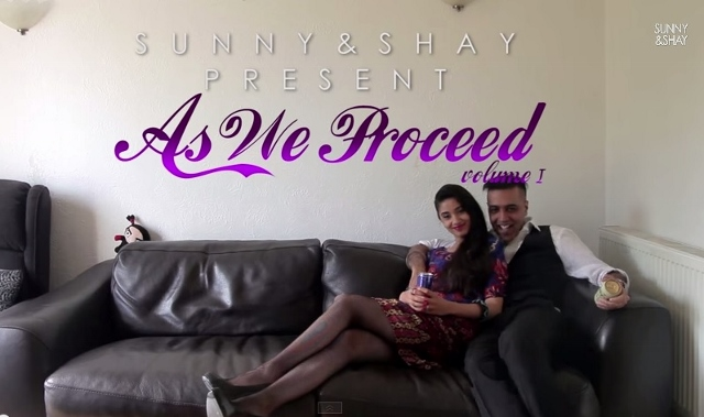 Sunny and Shay in the opening credits of As We Proceed