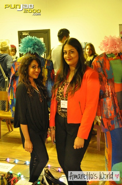 Kirandeep Bassan and Amrit at the Nook & Cranny