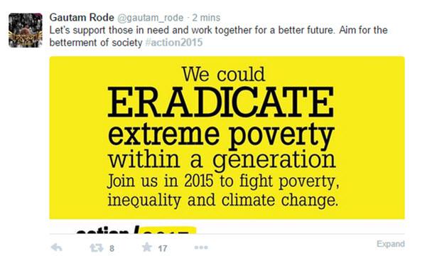 Gautam Rode (Twitter)