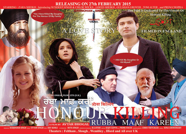 "GROUNDBREAKING FILM ABOUT ""HONOUR KILLING"" IN THE WEST SET ..."