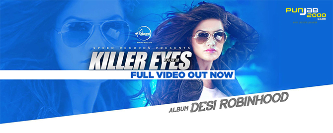 Killer Eyes from Desi Robinhood by Kaur B
