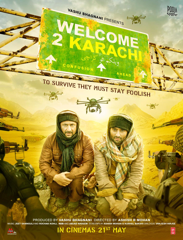Welcome 2 Karachi Poster