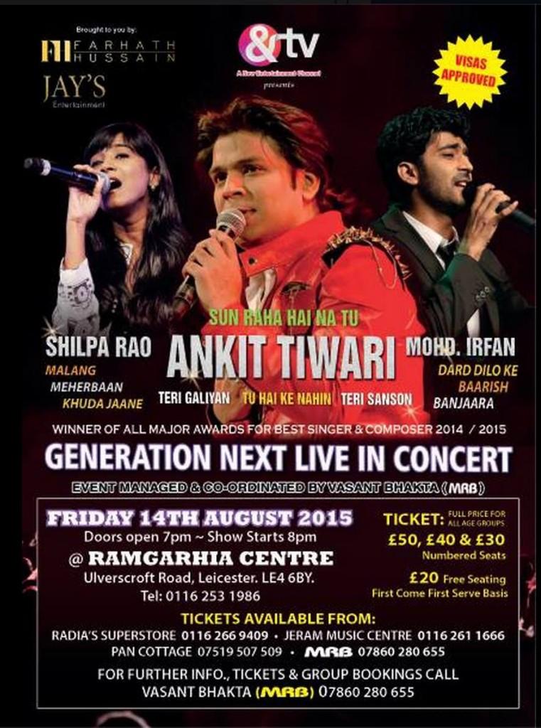 Generation Next Live Concert