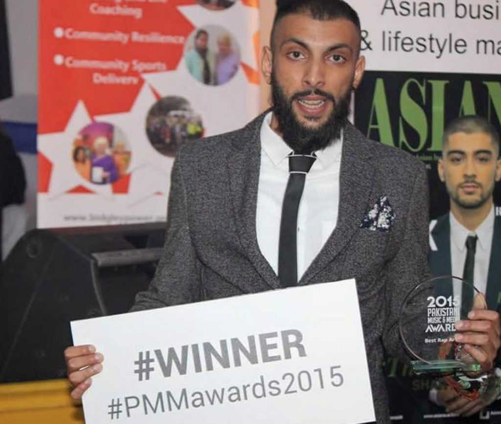 VIBRANT ASIAN TALENT RECOGNISED AT FIRST EVER PAKISTANI MUSIC AND MEDIA AWARDS