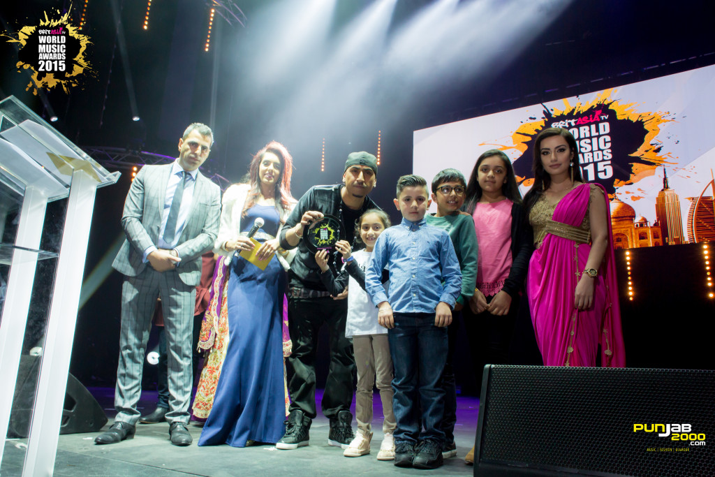 Bollywood Record of the year – Lovely by Dr Zeus and Kanika Kapoor