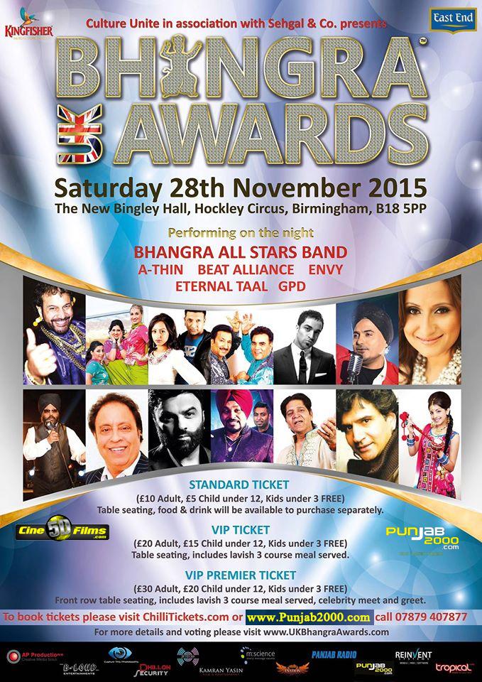UK Bhangra Awards 2015