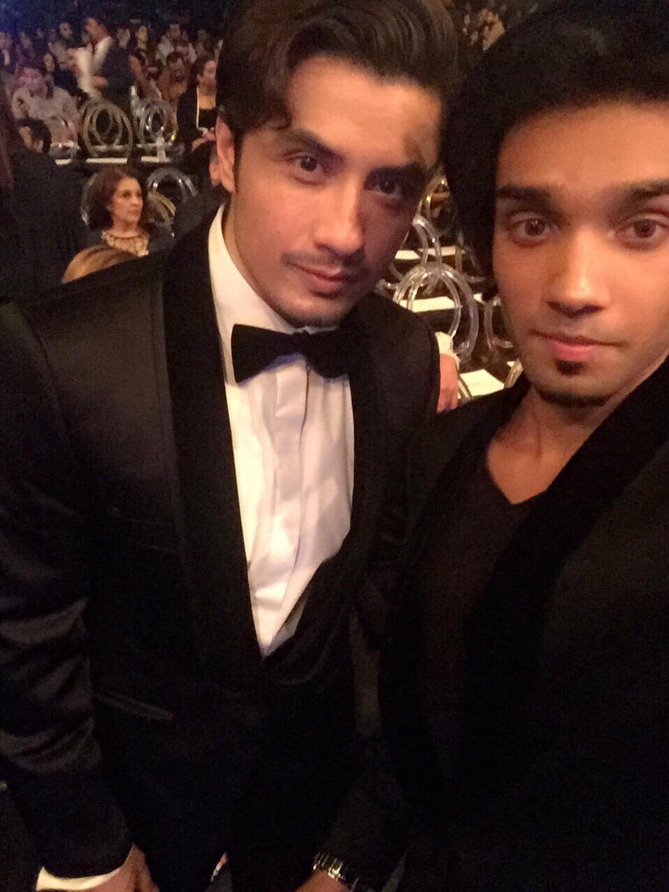 Ali Zafar & Aleem Zafar at Lux Style Awards 2015