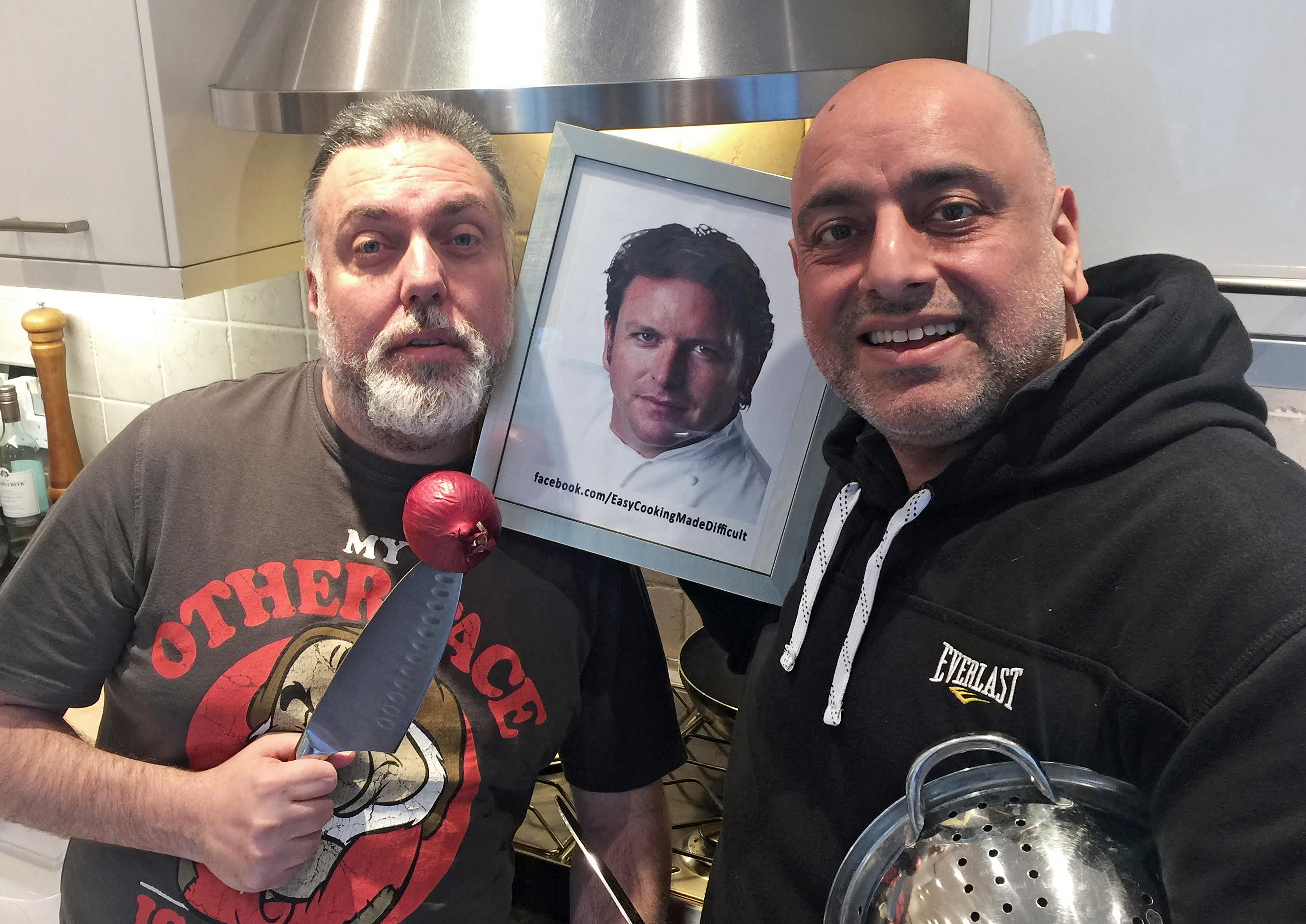 Easy Food Made Difficult with Raj Ghai & Pedro