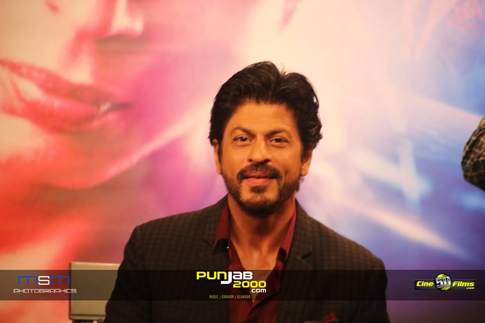Shah Rukh Khan at FAN UK Press Conference, Madame Tussauds