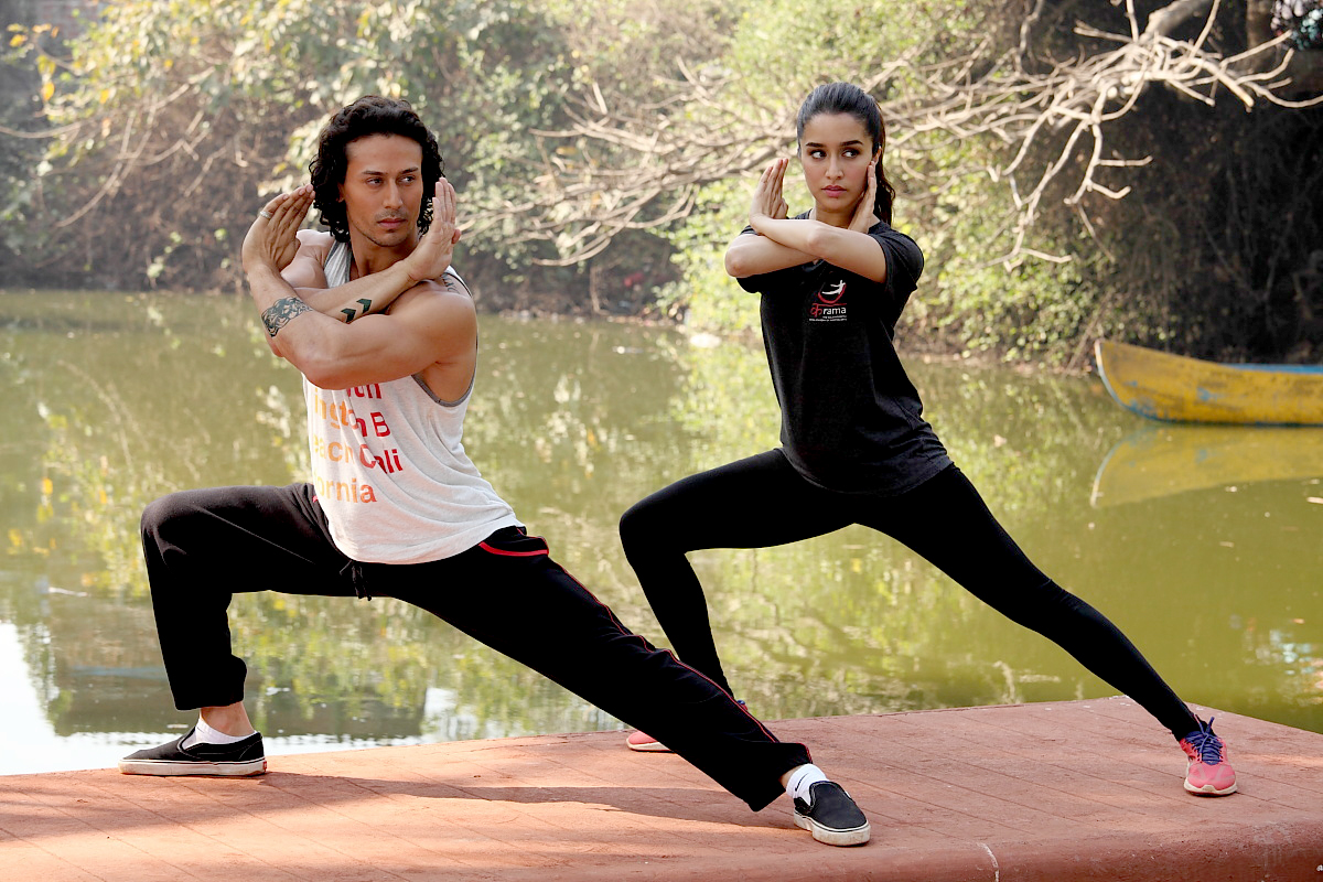 Tiger Tiger Shroff and Shraddha Kapoor in Baaghi