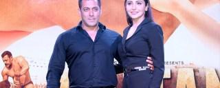 Salman Khan and Anushka Sharma in Sultan